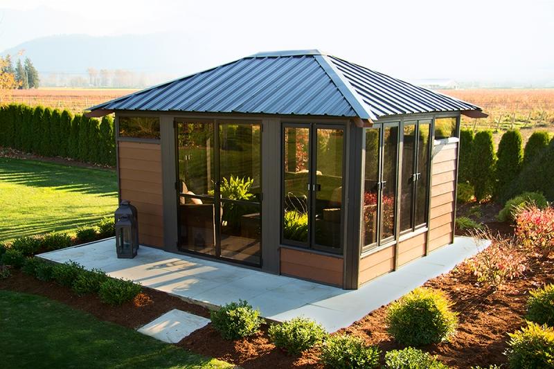 arctic spas barrie fully enclosed visscher. Black Bedroom Furniture Sets. Home Design Ideas